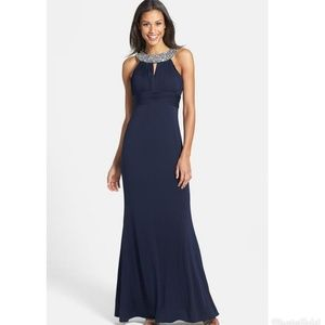 Formal Navy Blue Gown